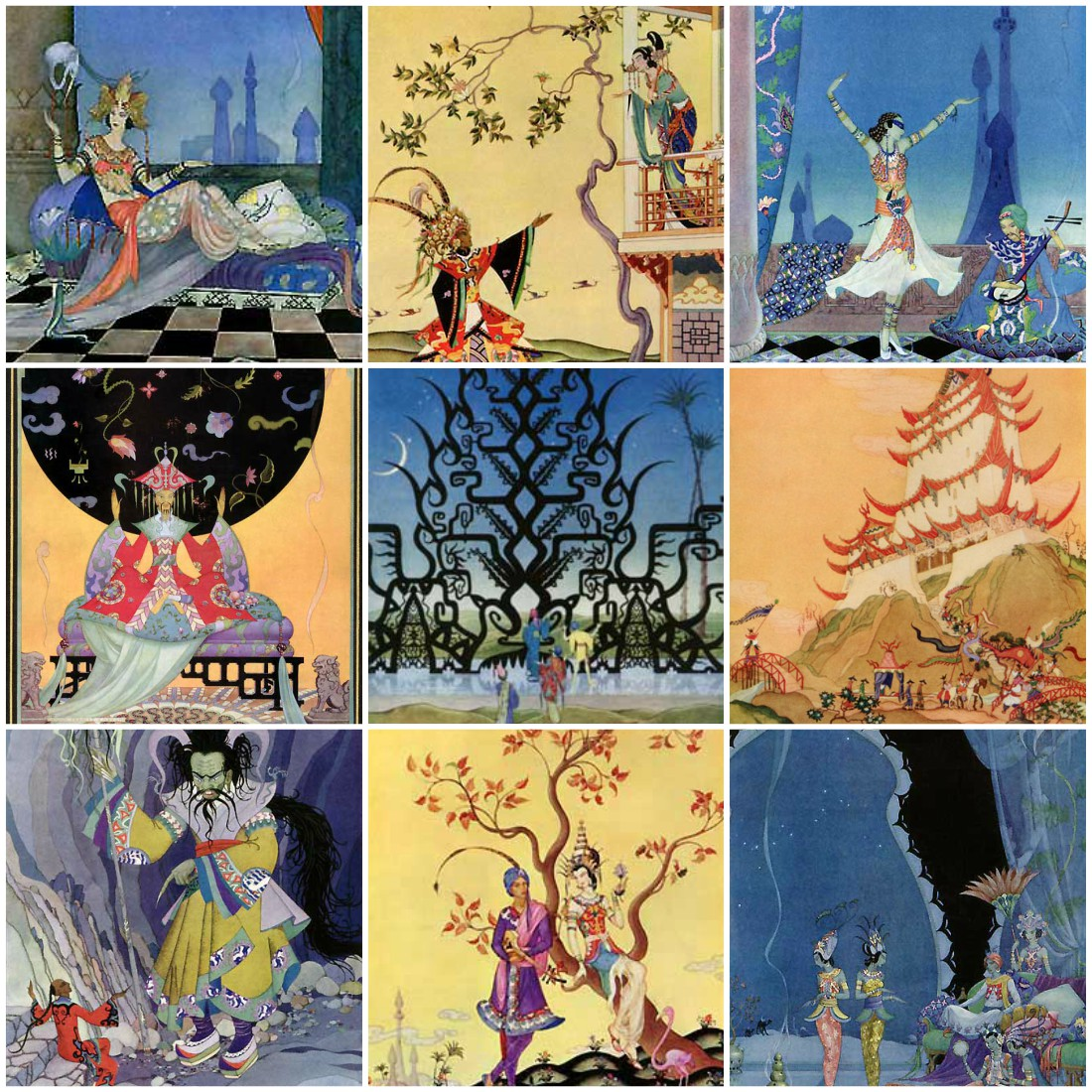 Illustrations by Virginia Frances Sterrett